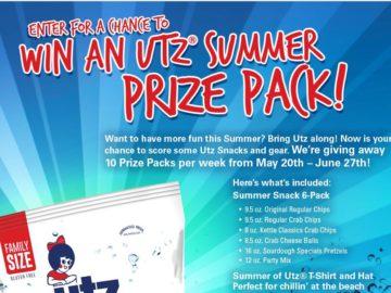 Utz Quality Foods, Inc. Summer of Utz Sweepstakes