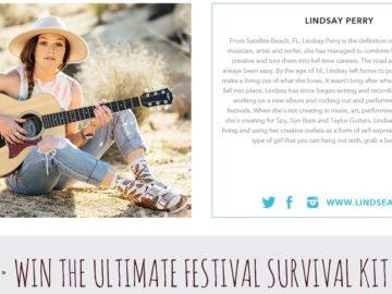 The SHOES.COM Lindsay Perry Festival Contest