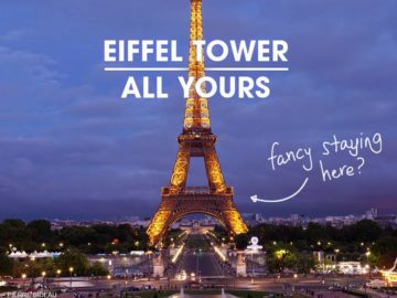 The HomeAway #EiffelTowerAllYours Contest