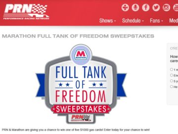 The Full Tank of Freedom Sweepstakes