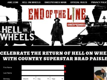 "AMC ""End of the Line"" Sweepstakes"