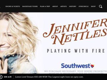 Jennifer Nettles Opry Bound Sweepstakes