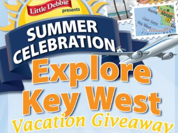 Little Debbie Key West Vacation Giveaway Sweepstakes