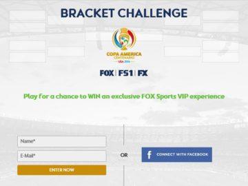 COPA America Bracket Challenge Sweepstakes