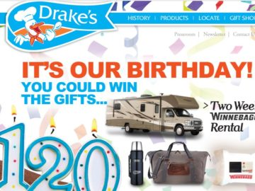 Drake's 120th Anniversary Sweepstakes