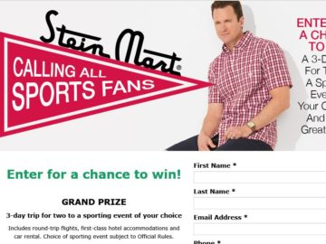 The Stein Mart Father's Day Sweepstakes