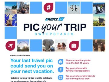 "Orbitz's ""Pic Your Trip"" Sweepstakes"