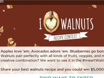 The I <3 Walnuts Recipe Contest