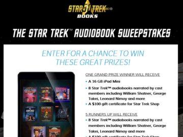 The STAR TREK Sweepstakes
