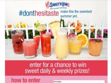Sweet'N Low Sweetest Summer Sweepstakes