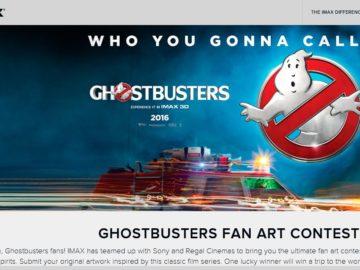 IMAX Ghostbusters Fan Art Contest