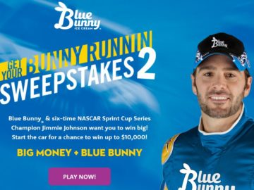 Blue Bunny Get Your Bunny Runnin Sweepstakes