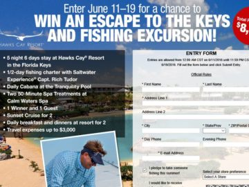 Bass Pro Shops Gone Fishing Sweepstakes