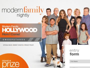 The Modern Family Hollywood Here I Come Sweepstakes
