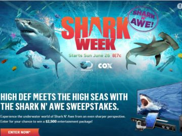 The Cox Shark N' Awe Sweepstakes