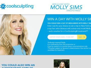 The Win a Day with Molly Sims Sweepstakes