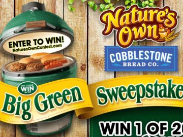 "Nature's Own ""Big Green"" Sweepstakes"