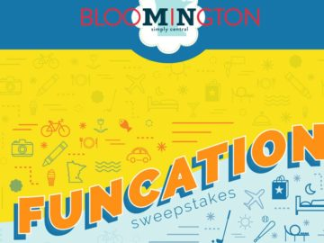 Bloomington Convention & Visitors Bureau's Funcation Sweepstakes