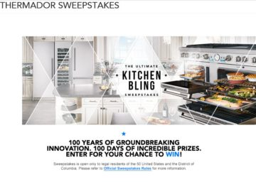 """The Thermador """"It's My Party and I Can Bling If I Want To"""" Sweepstakes"""