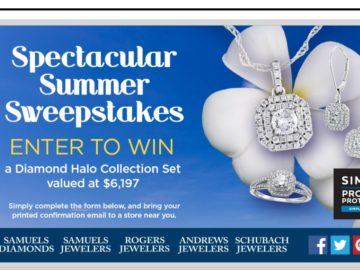Samuels Jewelers & SIMPLR Spectacular Summer Sweepstakes