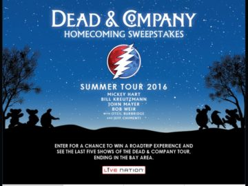 The Dead & Co. Homecoming Sweepstakes