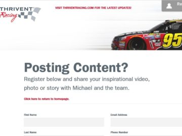 """The Thrivent Racing """"Motor to Miami"""" Sweepstakes"""