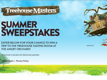 Angry Orchard Treehouse Masters Sweepstakes