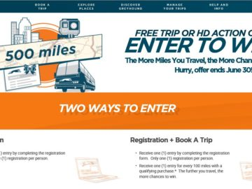 The Greyhound Miles To Win Sweepstakes