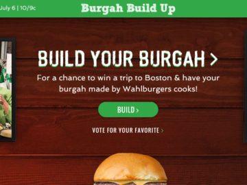 A&E's Burgah Build Up Contest
