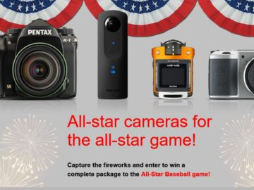 The Ricoh Imaging All-Star Baseball Weekend Sweepstakes