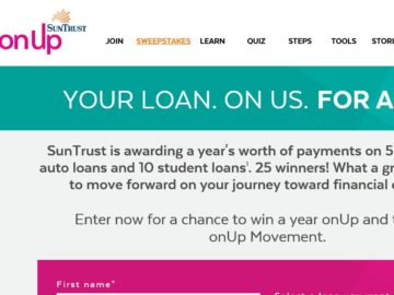 The SunTrust Year onUp Sweepstakes