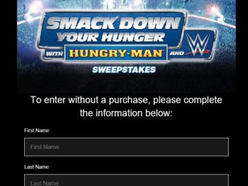 Smack Down Your Hunger with Hungry-Man Sweepstakes