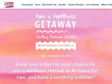 The Calendula Soothing Summer Sweepstakes