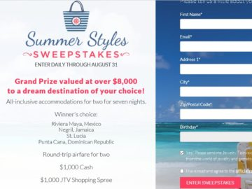 JTV's Summer Styles Sweepstakes