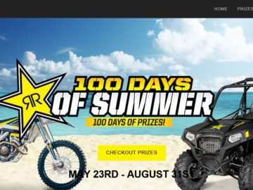 RockStar 100 Days of Summer Sweepstakes