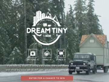 The BEHR Dream Tiny Sweepstakes