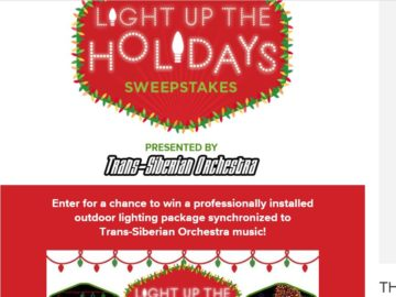 The Hallmark Channel Light Up the Holidays Sweepstakes