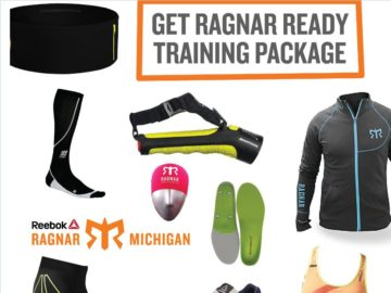 Reebok Ragnar Michigan- Training Package Giveaway Sweepstakes