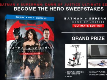 """The Warner Bros. """"Become the Hero Sweepstakes"""