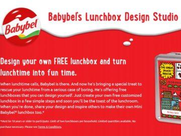 Mini Babybel Lunchbox Giveaway Sweepstakes