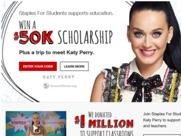 Win A 50000 Scholarship From Staples For Students Autos Post