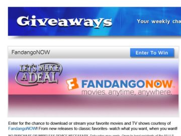 Let's Make a Deal Weekly Online Giveaway Sweepstakes