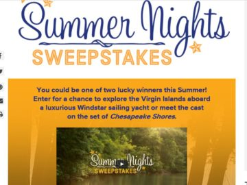 The Hallmark Channel Summer Nights Sweepstakes
