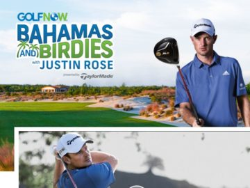 The GolfNow Bahamas and Birdies Sweepstakes