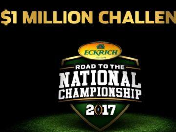 $1 Million National Championship Game Sweepstakes