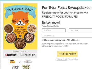 PetMD Fur-Ever Feast Sweepstakes