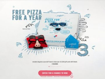 Domino's Pizza Payback Sweepstakes