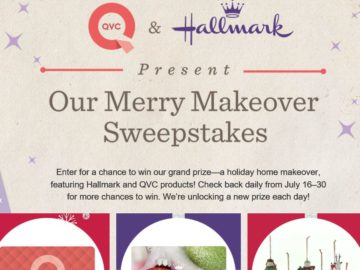 Our Merry Makeover Sweepstakes