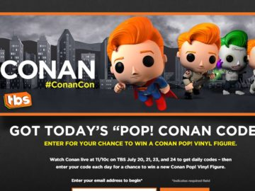 Conan Pop! Figure Sweepstakes