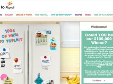 100s of Ways to Yoplait Sweepstakes